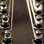 Mandolin Headstock by Liz Grandmaison