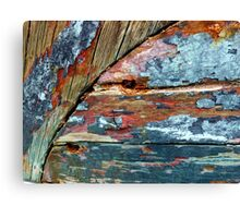 Worn Beautifully  Canvas Print