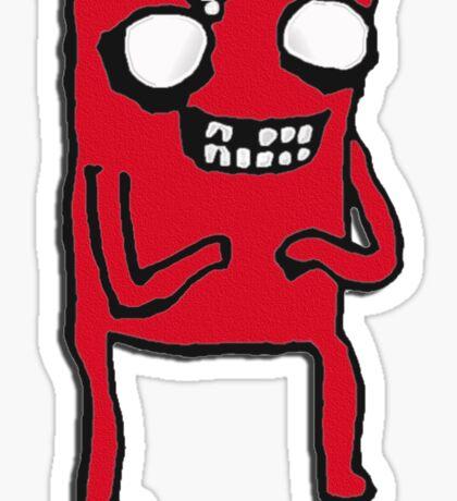 Meat the Boy Sticker