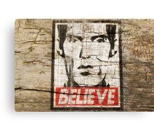 BELIEVE GIANT Canvas Print