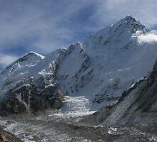 Nuptse and Khumbu Galcier by Richard Heath
