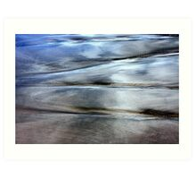Sea and Sand Forms Art Print
