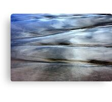 Sea and Sand Forms Canvas Print