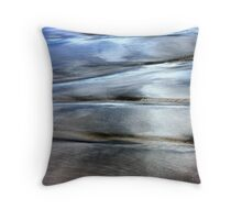 Sea and Sand Forms Throw Pillow