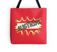 Austria Flag Tote Bag