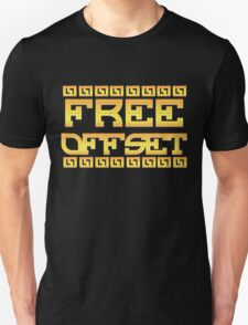 FREE OFFSET Unisex T-Shirt