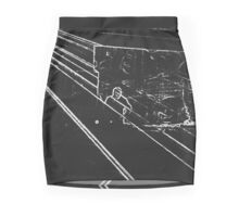 BLACK Electronic Underground #11 Mini Skirt