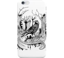 The Black Crow iPhone Case/Skin