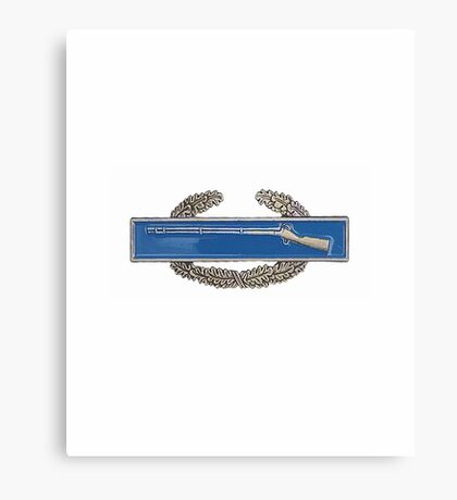 Combat Infantry Badge - CIB - iPad Case Canvas Print
