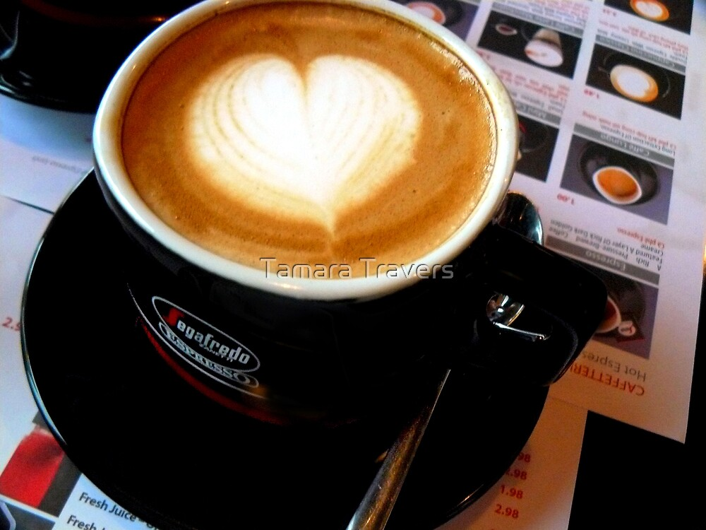 Anyone for a cuppa joe??? by Tamara Travers