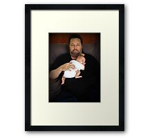 ♥LOVE FROM GRANPA PRECIOUS♥ Framed Print
