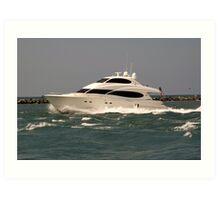 Lotta Yacht Art Print