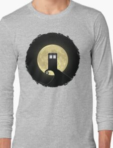 Nightmare Before A Tardis Long Sleeve T-Shirt