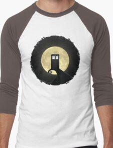 Nightmare Before A Tardis Men's Baseball ¾ T-Shirt