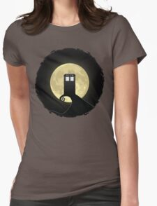 Nightmare Before A Tardis Womens Fitted T-Shirt