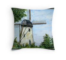Flanders Mill Throw Pillow