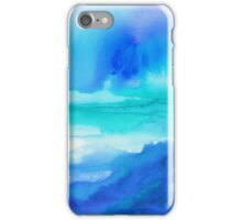Rise 2 - Abstract Blue Watercolor iPhone Case/Skin