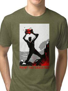 Paint the Grass Red... Tri-blend T-Shirt