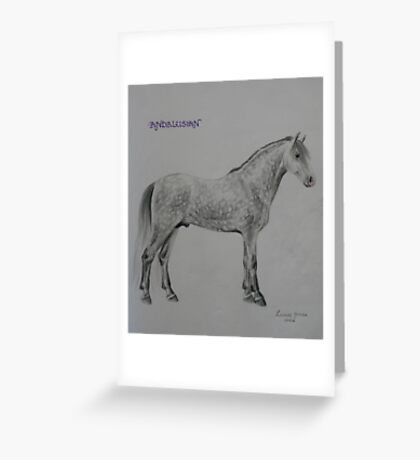 Andalusian Greeting Card