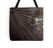 BLACK Electronic Underground #8 Tote Bag