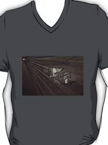 BLACK Electronic Underground #8 T-Shirt