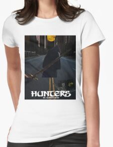 Hunters  Womens Fitted T-Shirt