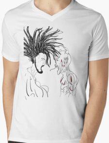 The Biblical Battle Mens V-Neck T-Shirt