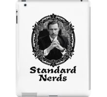 Standard Nerds iPad Case/Skin