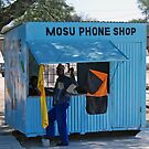 Phone Shop, Maun, Botswana by Adrian Paul