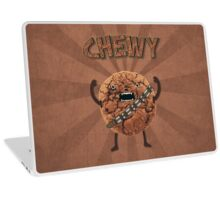 Chewy Chocolate Cookie Wookiee Laptop Skin