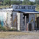 Last Chance Tuck Shop near Rakops,Botswana by Adrian Paul