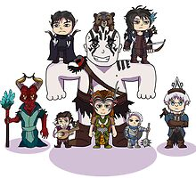 Little Vox Machina by Nguyen013