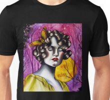 Neotraditional Tattoo Flapper Girl  Unisex T-Shirt