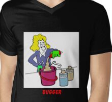 Mixing Chemicals the Rodney BUGGER way Mens V-Neck T-Shirt