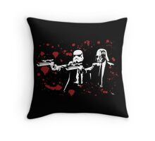 "Darth Vader - Say ""What"" Again! Version 3 (Blood Splatter) Throw Pillow"