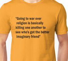 War & Religion Unisex T-Shirt