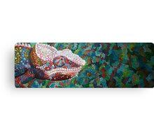 Chameleon Lizard Canvas Print