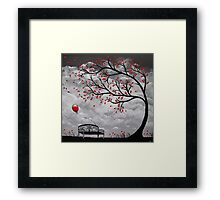 Red Balloon 2 Framed Print