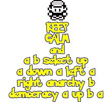 Keep Calm and Twitch Photographic Print