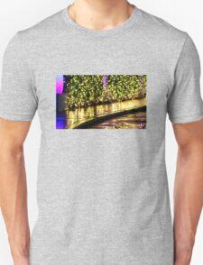 Holiday Sidewalk Reflections Unisex T-Shirt