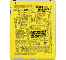 quotations iPad Case/Skin