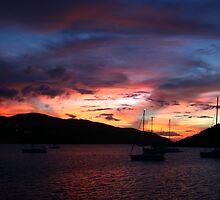 Virgin Gorda Sunset by DARRIN ALDRIDGE