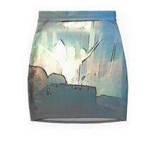 BLACK Electronic Underground #3 Mini Skirt