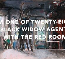 Black Widow: Red Room origins by perphation
