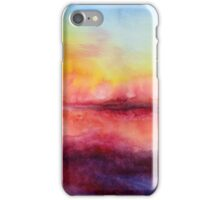 Kiss of Life - Abstract Watercolor Painting iPhone Case/Skin