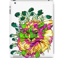 Stained Glass House Cat Trip iPad Case/Skin