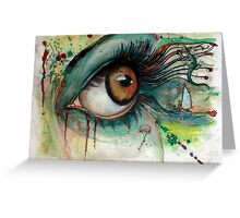 Blink of eyes - 2 Greeting Card