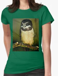Owl, London Zoo Womens Fitted T-Shirt