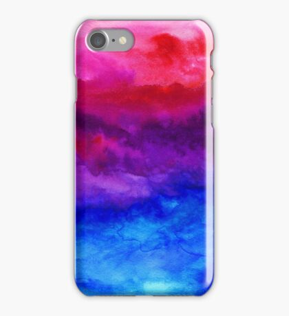 Here Now - Abstract Ombre Watercolor iPhone Case/Skin