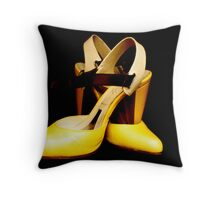 Expensive Shoes Throw Pillow